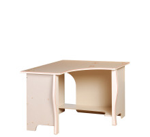 Стол «Алиса» угловой № 558 (кремовый белый)