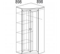 Шкаф «Инна» угловой № 606 (денвер темный)