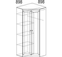 Шкаф Инна угловой №606 (денвер светлый)