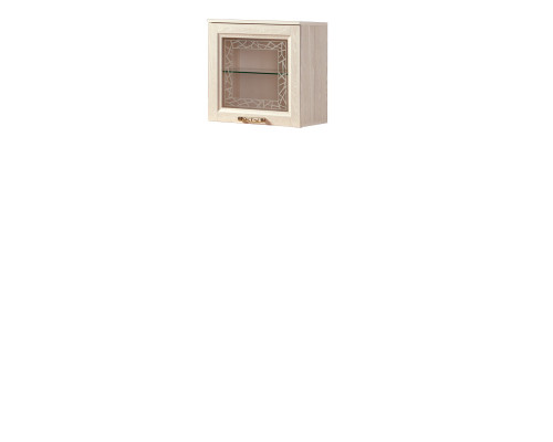 Шкаф «Йорк» навесной №13.1 (ясень анкор)