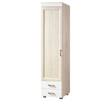Шкаф «Йорк» 1-х дверный с зеркалом № 06.9 (ясень анкор)
