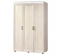 Шкаф «Йорк» 3-х дверный глухой  № 01.2 (ясень анкор)