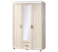 Шкаф «Йорк» 3-х дверный с 1 ящиком № 01.8 (ясень анкор)