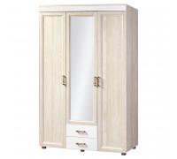 Шкаф Йорк 3-дверный с двумя ящиками № 01.6 (ясень анкор)