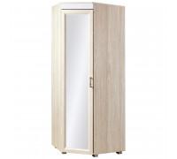 Шкаф «Йорк» угловой с зеркалом № 04.2 (ясень анкор)