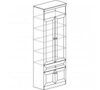 Шкаф «Инна» для книг № 611 (денвер темный)