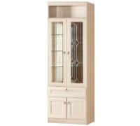 Шкаф «Инна» для посуды № 612 (денвер светлый)