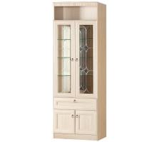 Шкаф Инна для посуды №612 (денвер светлый)