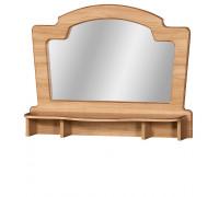 Зеркало «Ралли» над комодом №857 (дуб ридинг)
