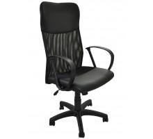 Кресло компьютерное Боб ткань JP 15-2, цвет чёрный, подлокотники Фактор