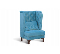 "Кресло с утяжками ""Прованс-2"" №66, Vital Pacific (велюр)"