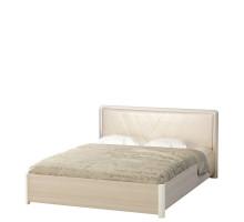 Кровать «Йорк» №43.0,(ясень анкор) 1,6 м