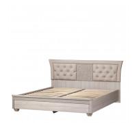 Кровать «Лючия» №198 (дуб оксфорд серый) 1,6 м
