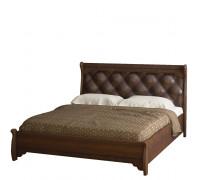 Кровать Флоренция с низкой спинкой № 678 (дуб оксфорд) 1,6 м