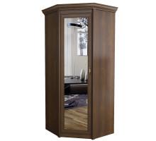 Шкаф Флоренция угловой с зеркалом №662 (дуб оксфорд)