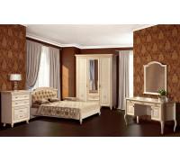 Спальня «Марлен» 1,(кремовый белый)