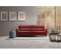 Диван-кровать Дорис,арт. ТД 162 Легион оксблад (оксидный красный)