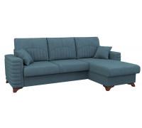 Диван-кровать угловой Джейми,Арт. ТД 170,Бентли 08 (серо-голубой)