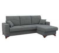Диван-кровать угловой Джейми,Арт. ТД 171,Бентли 09 (агатовый серый)