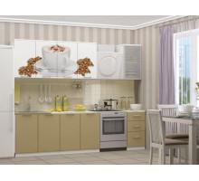 Кухня МДФ 2000 с фотопечатью Кофе