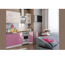 Кухня МДФ 1700 с фотопечатью Вишнёвый цвет