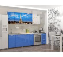 Кухня МДФ 2000 с фотопечатью Париж