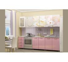 Кухня МДФ 2000 с фотопечатью Вишнёвый цвет