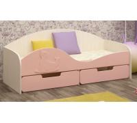 Детская кровать Юниор-8 МДФ, 80х180
