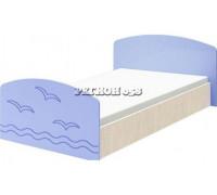Кровать Юниор-2 глянец, 80х200