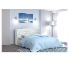 Кровать 160 арт.002 Кжз. Белый Глянец КЛАССИКА