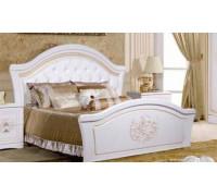 Кровать Графиня (с ножным щитом) КМК 0379.10, белый 160