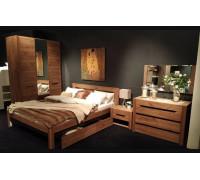Модульная спальня Афина, дуб крафт табачный галифакс