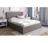 Кровать Милана с подъемным механизмом, 160, велюр Bruno 08