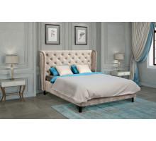 Кровать Прованс с мягким изголовьем,обивкой корпуса и подъемным механизмом