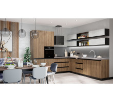 Кухня на заказ NOVA Латте, арт.1284