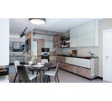 Кухня Sola Комильфо по индивидуальным размерам ,арт.1076
